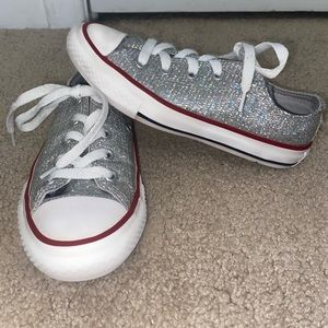 Girly converse sneakers